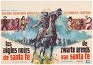 Schwarzen Adler von Santa Fe, Die - Belgian Movie Poster (xs thumbnail)