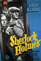 Der Mann, der Sherlock Holmes war - German Movie Poster (xs thumbnail)