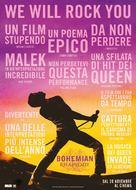 Bohemian Rhapsody - Italian Movie Poster (xs thumbnail)
