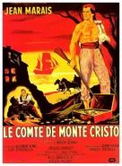Le comte de Monte-Cristo - French Movie Poster (xs thumbnail)