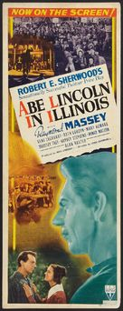Abe Lincoln in Illinois - Movie Poster (xs thumbnail)