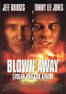 Blown Away - Spanish Movie Poster (xs thumbnail)