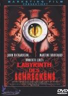 Gatti rossi in un labirinto di vetro - German DVD cover (xs thumbnail)