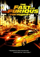 The Fast and the Furious: Tokyo Drift - DVD cover (xs thumbnail)