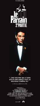 The Godfather: Part II - French Re-release movie poster (xs thumbnail)