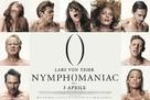 Nymphomaniac - Italian Movie Poster (xs thumbnail)