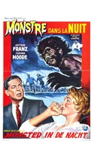 Monster on the Campus - Belgian Movie Poster (xs thumbnail)