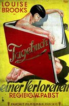 Diary of a Lost Girl - German Movie Poster (xs thumbnail)