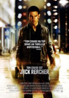 Jack Reacher - French Movie Poster (xs thumbnail)