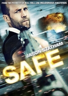 Safe - Swedish DVD movie cover (xs thumbnail)
