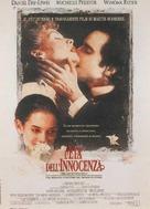 The Age of Innocence - Italian Movie Poster (xs thumbnail)