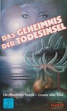 Isla de la muerte, La - German VHS cover (xs thumbnail)