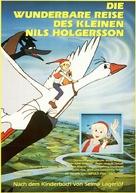 """Nirusu no fushigi na tabi"" - German Movie Poster (xs thumbnail)"