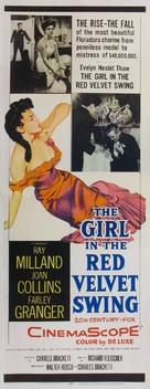 The Girl in the Red Velvet Swing - Movie Poster (xs thumbnail)