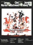 Paint Your Wagon - French Movie Poster (xs thumbnail)