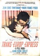 Trans-Europ-Express - Italian Movie Poster (xs thumbnail)