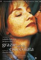 Merci pour le chocolat - Italian Movie Poster (xs thumbnail)