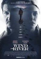 Wind River - German Movie Poster (xs thumbnail)