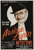 Arséne Lupin dètective - French Movie Poster (xs thumbnail)