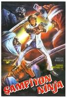 Ninja Champion - Turkish Movie Poster (xs thumbnail)