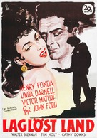 My Darling Clementine - Swedish Movie Poster (xs thumbnail)