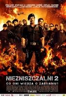 The Expendables 2 - Polish Movie Poster (xs thumbnail)