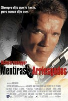 True Lies - Spanish Movie Poster (xs thumbnail)