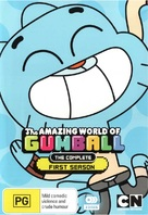 """The Amazing World of Gumball"" - Australian DVD movie cover (xs thumbnail)"