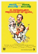 The Prisoner of Zenda - Spanish Movie Poster (xs thumbnail)