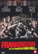 Frankenstein and the Monster from Hell - Dutch DVD movie cover (xs thumbnail)