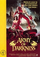 Army Of Darkness - Swedish DVD movie cover (xs thumbnail)