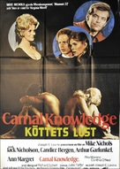 Carnal Knowledge - Swedish Movie Poster (xs thumbnail)