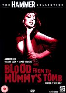 Blood from the Mummy's Tomb - British DVD movie cover (xs thumbnail)