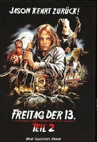Friday the 13th Part 2 - German Blu-Ray movie cover (xs thumbnail)