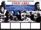 A View To A Kill - British Movie Poster (xs thumbnail)