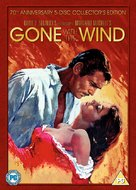 Gone with the Wind - British DVD movie cover (xs thumbnail)
