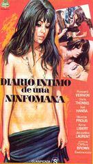 Le journal intime d'une nymphomane - Spanish Movie Poster (xs thumbnail)