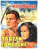 Tarzan and His Mate - Belgian Movie Poster (xs thumbnail)