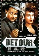Detour - Spanish DVD cover (xs thumbnail)
