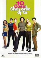 10 Things I Hate About You - Italian DVD cover (xs thumbnail)