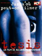 Tesis - French Movie Poster (xs thumbnail)