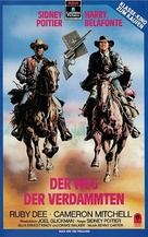 Buck and the Preacher - German VHS movie cover (xs thumbnail)