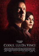 The Da Vinci Code - Romanian Movie Poster (xs thumbnail)