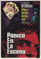 Stage Fright - Spanish Movie Poster (xs thumbnail)