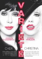 Burlesque - Slovak Movie Poster (xs thumbnail)