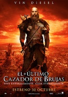 The Last Witch Hunter - Spanish Movie Poster (xs thumbnail)