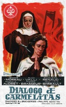 Le dialogue des Carmélites - Spanish Movie Poster (xs thumbnail)