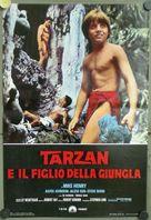Tarzan and the Jungle Boy - Italian Movie Poster (xs thumbnail)