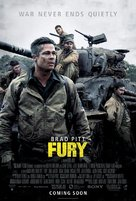 Fury - Movie Poster (xs thumbnail)