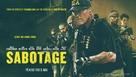 Sabotage - Norwegian Movie Poster (xs thumbnail)